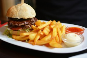 Burger-Test: Restaurant Tag.Lang in Wien